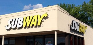 Subway to close down 500 stalls in conjunction to the company's revitalization program